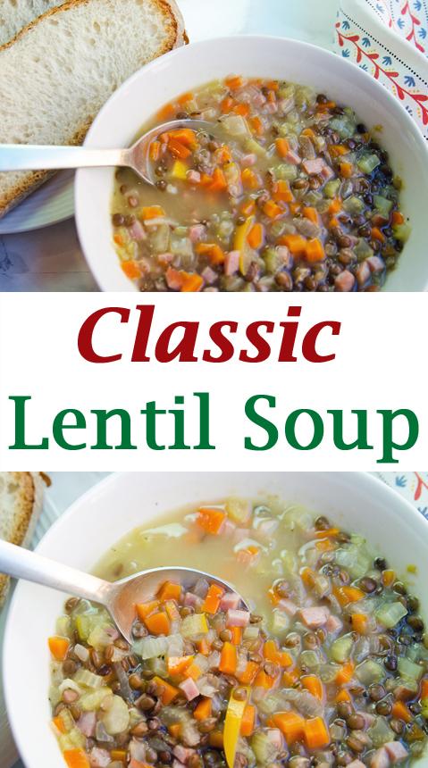 PIN Classic Lentil Soup