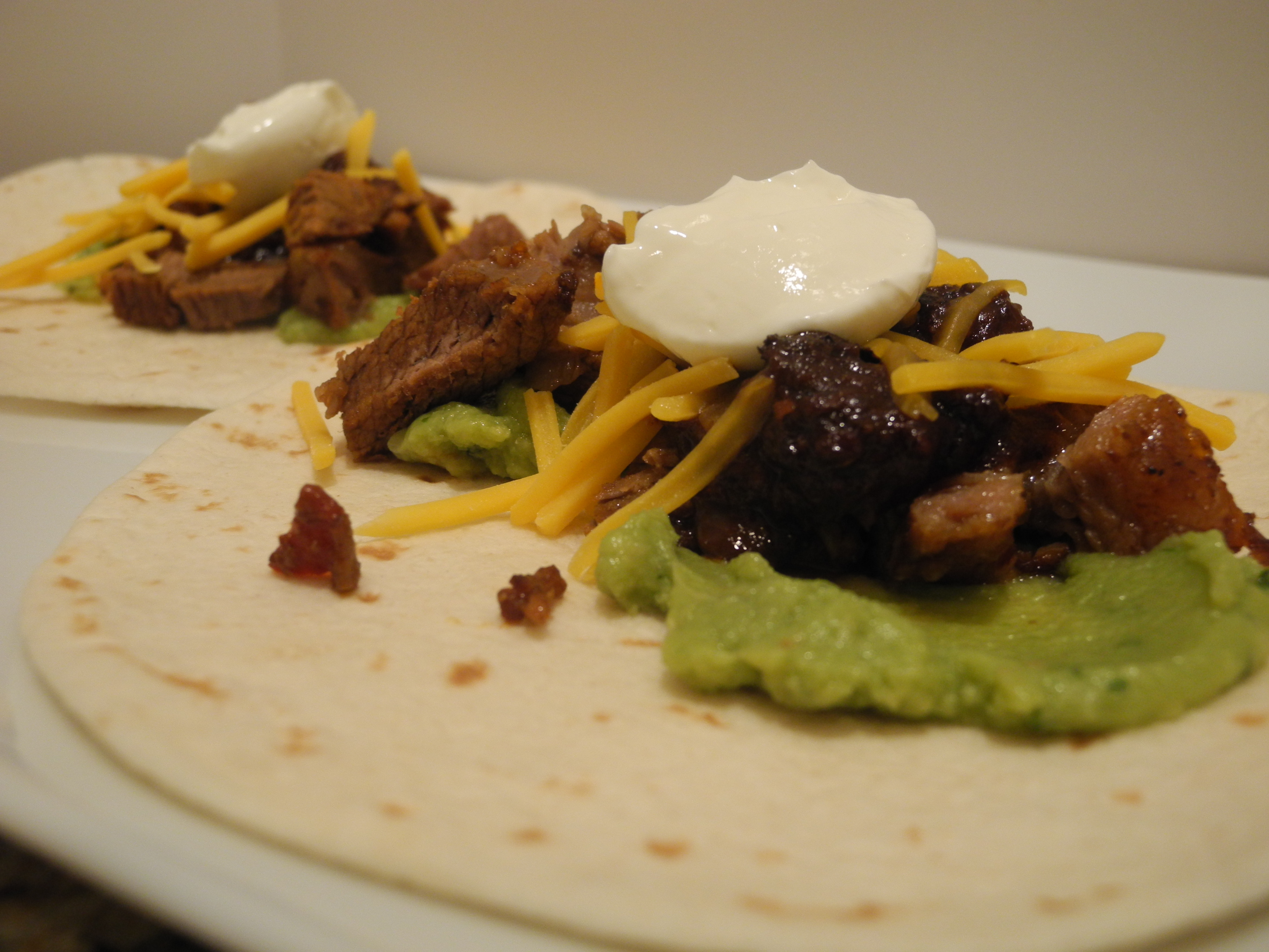 Brisket Tacos with Warm Chipotle Salsa - A Well Fed Life