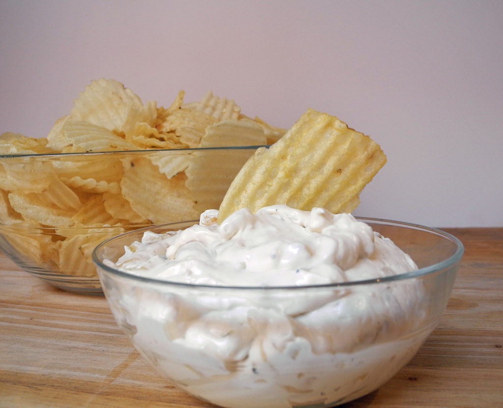 Reduced Fat Onion Dip