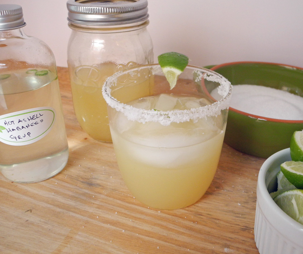 Spicy Margaritas