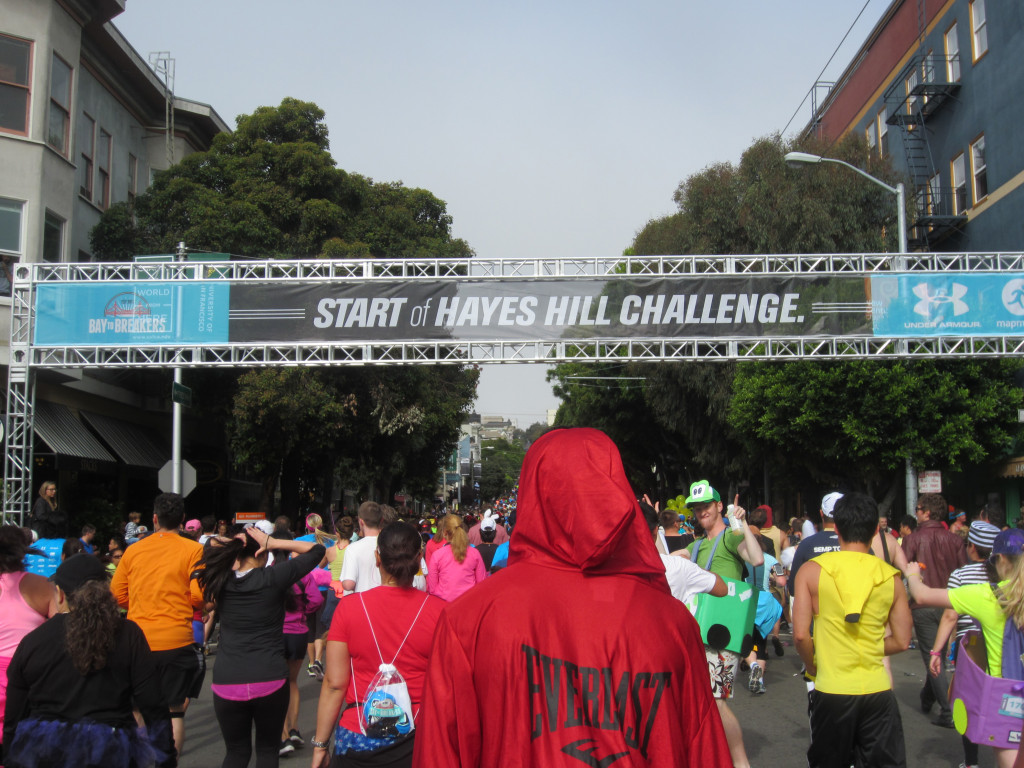 Bay to Breakers Hayes Hill Challenge