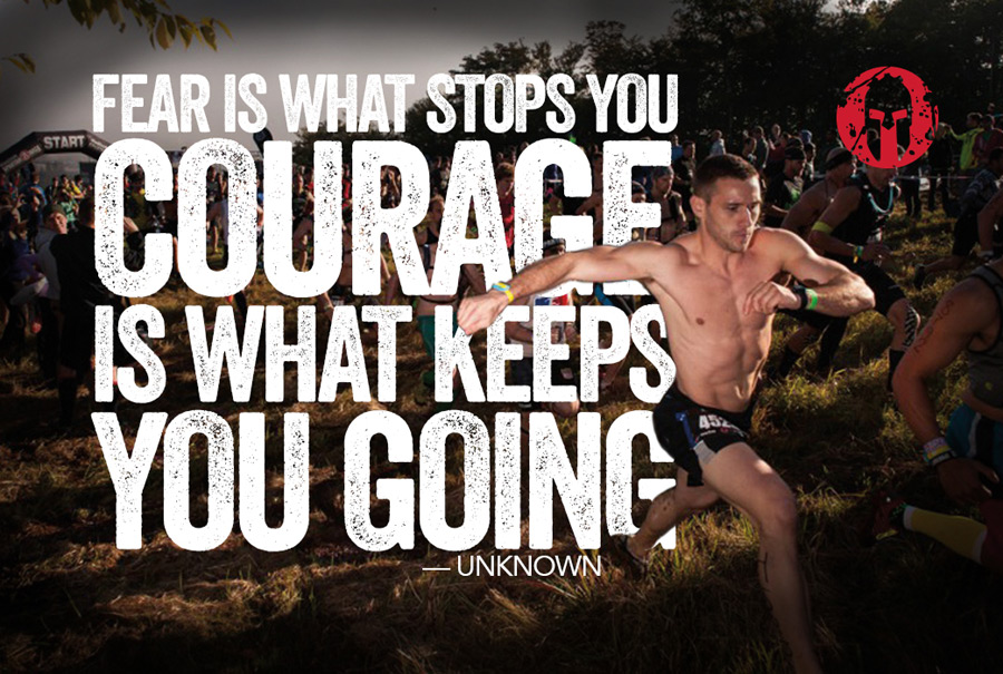 Spartan Race Keep going