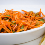 Sweet Spicy Carrot Salad