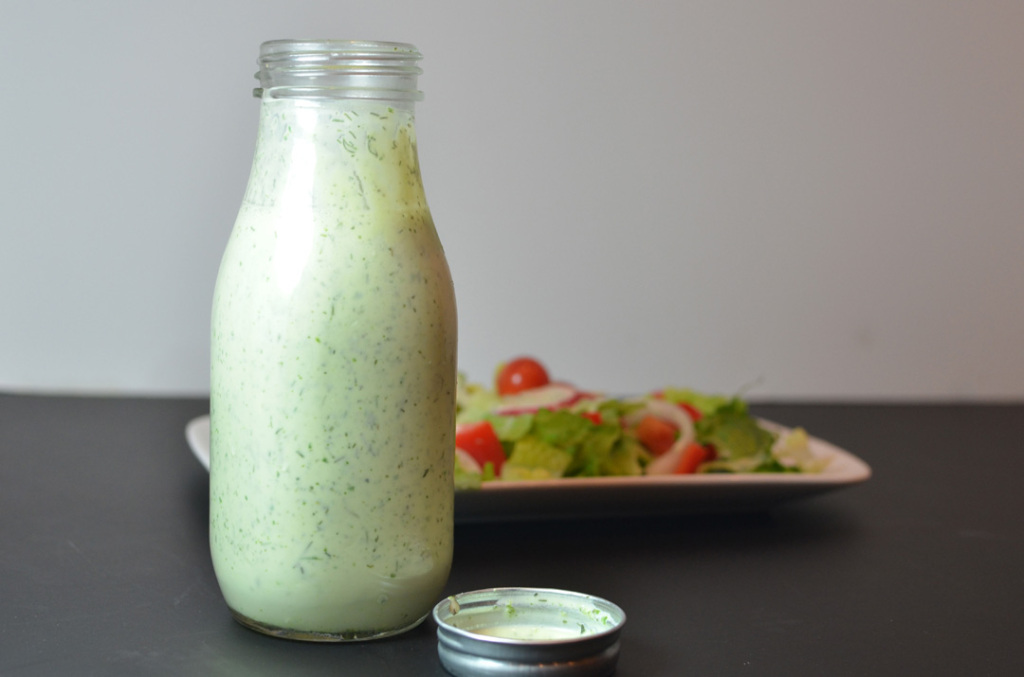 Low Fat Buttermilk Ranch Dressing - A Well Fed Life