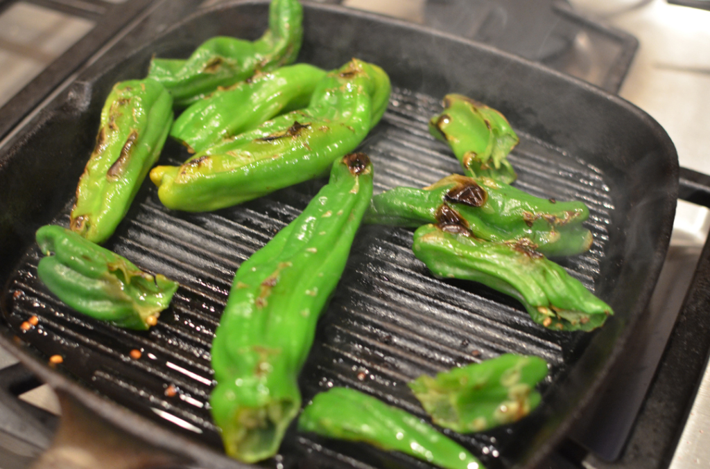 Blistered Shito Peppers