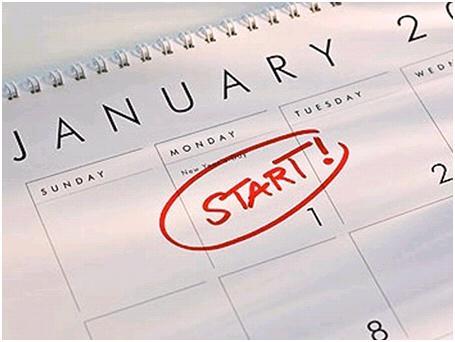 New Year = Fresh Start
