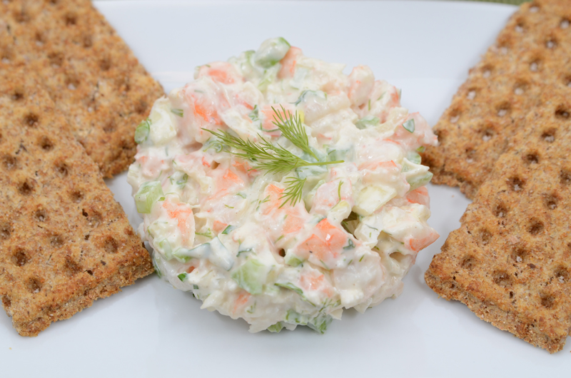 Yogurt Shrimp Salad