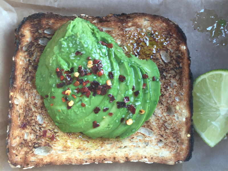 Buddy Brew Avacado Toast
