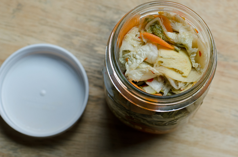 Pickeled Cabbage Salad