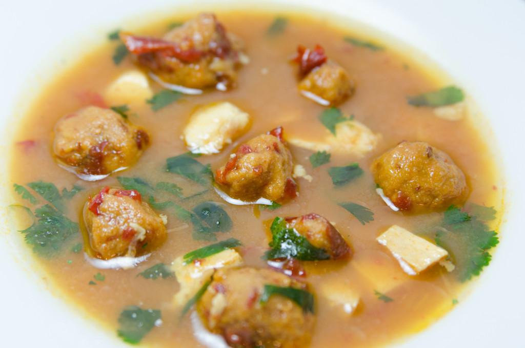 Chiplote Saffron Dumpling Soup