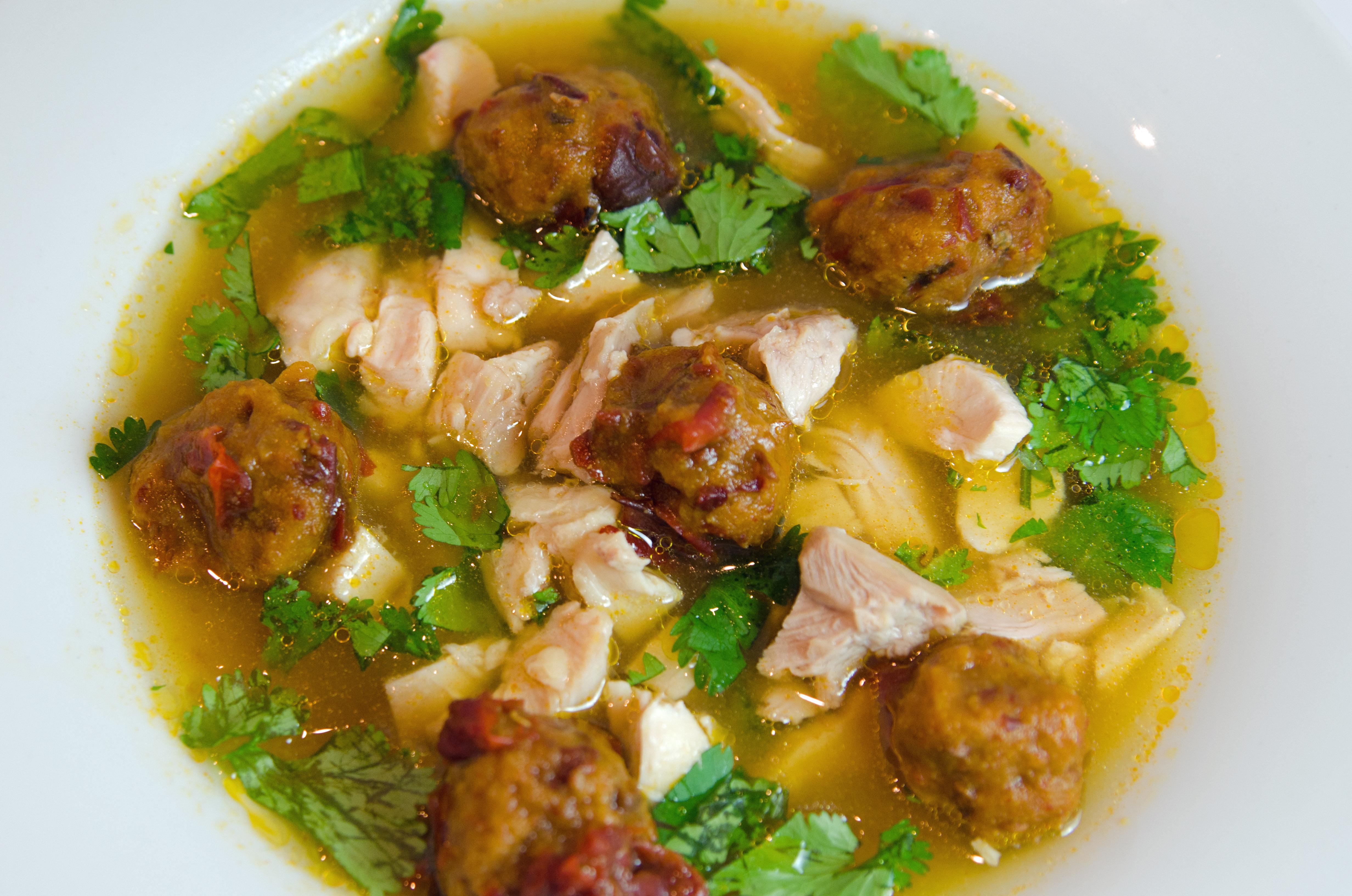 Chipotle Dumpling Chicken Soup