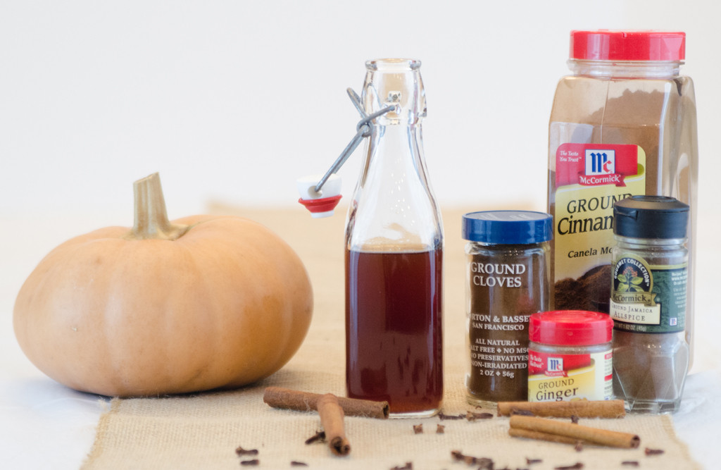 Pumpkin Spice Whiskey Spritzer Ingredients