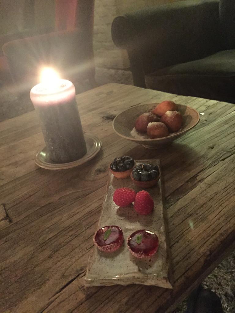 Dessert at In De Wulf