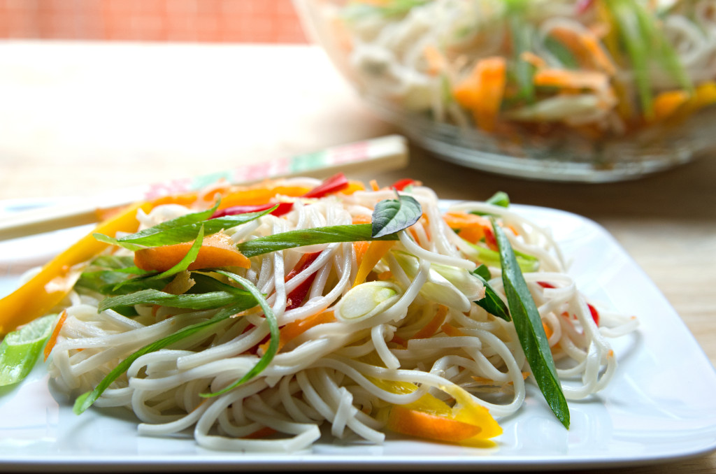 Sesame Lime Noodle Salad - A Well Fed Life