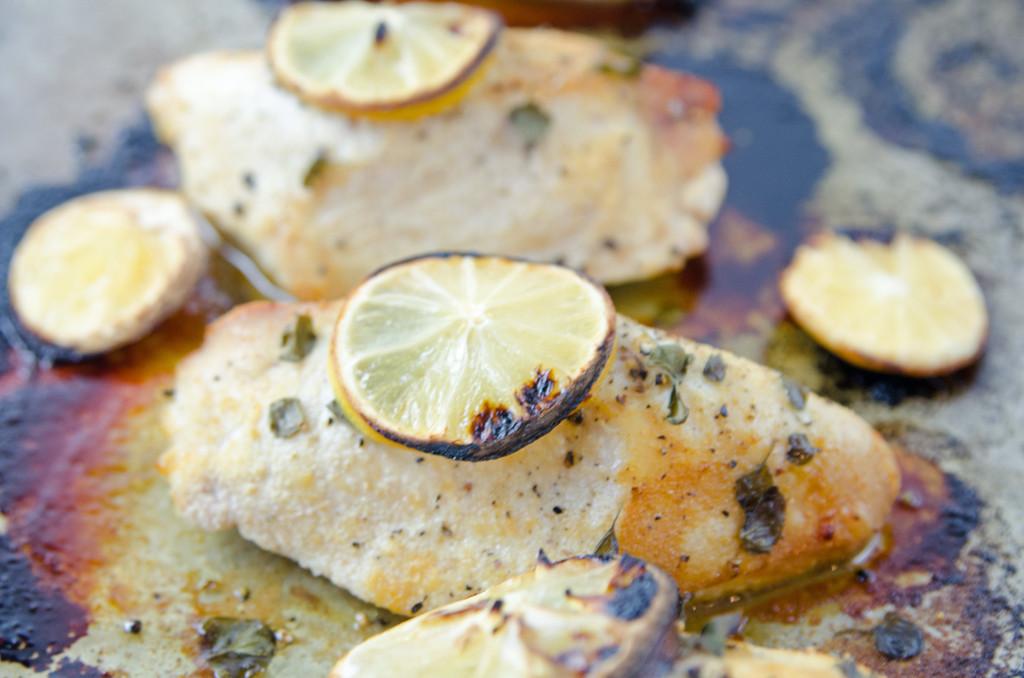 Easy Baked Lemon Oregano Chicken