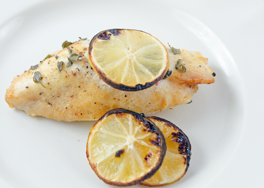 Lemon Feta Chicken With Oregano Recipe — Dishmaps
