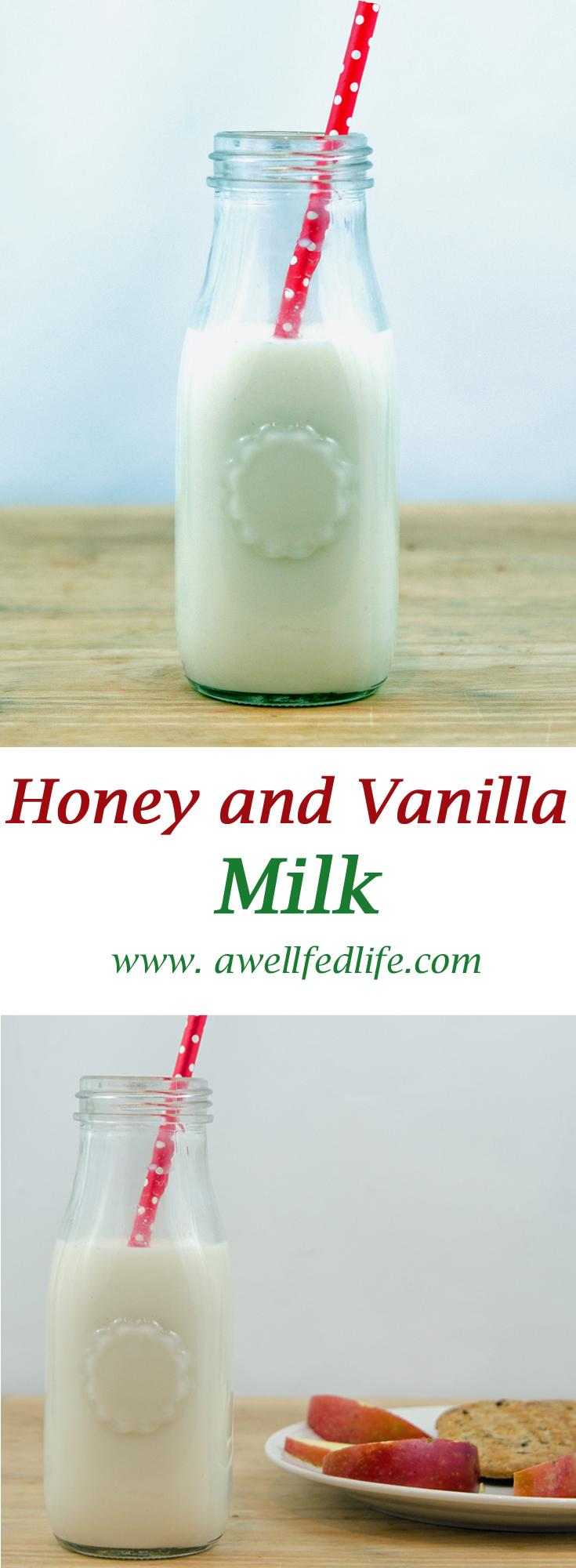 Honey Vanilla Milk