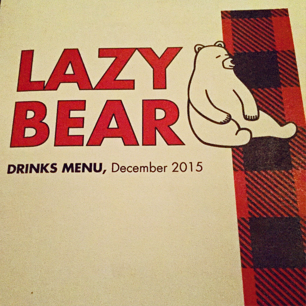 Memorable Meal: Lazy Bear, San Franciso