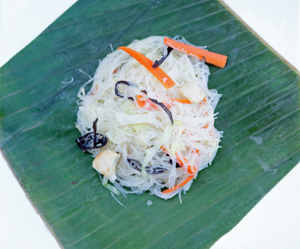 how to cook pancit bihon with sardines