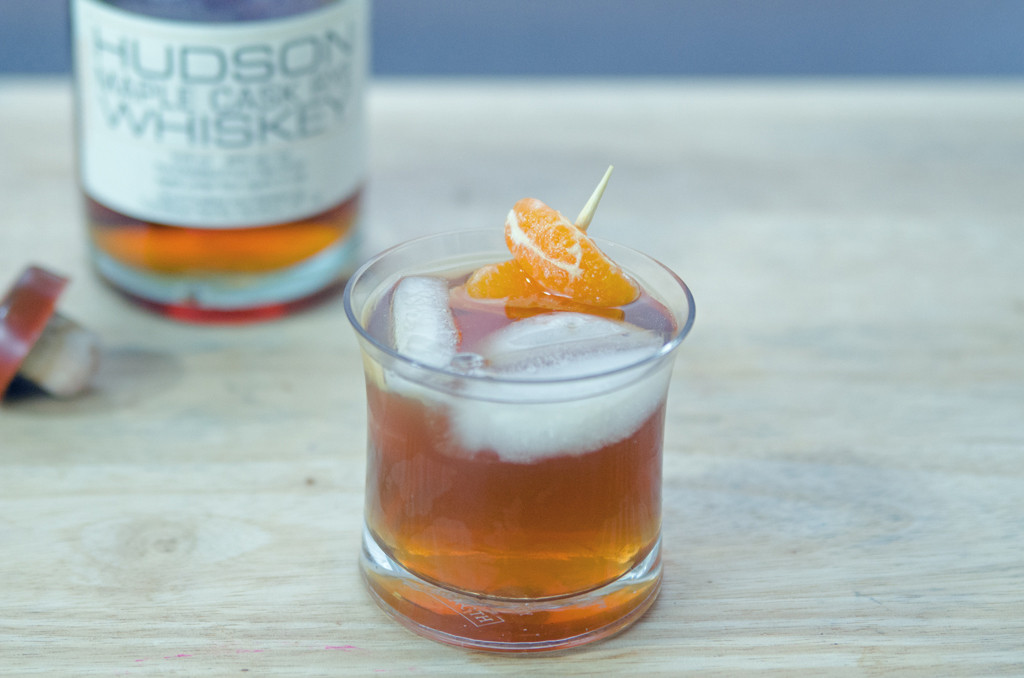 Walnut Maple Old Fashioned with Hudson Whiskey