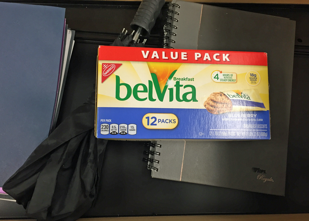 belVita in Drawer at Work
