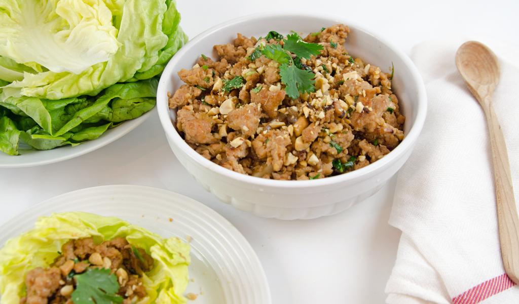 Chinken Lettuce Wraps Filling