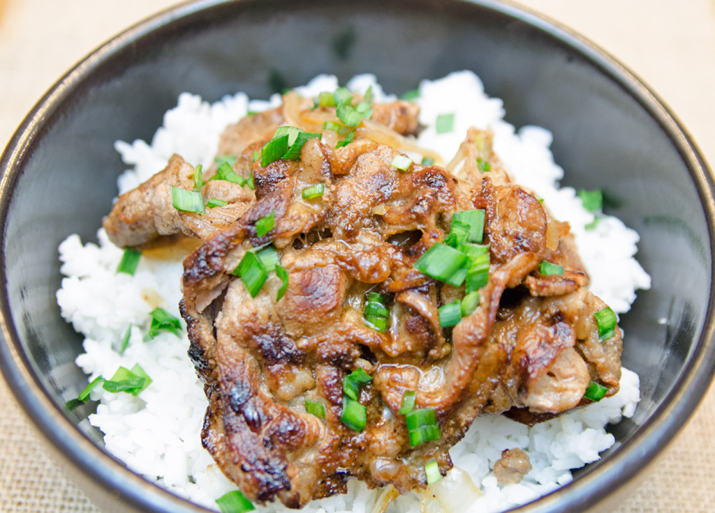 Bulgogi Over Rice