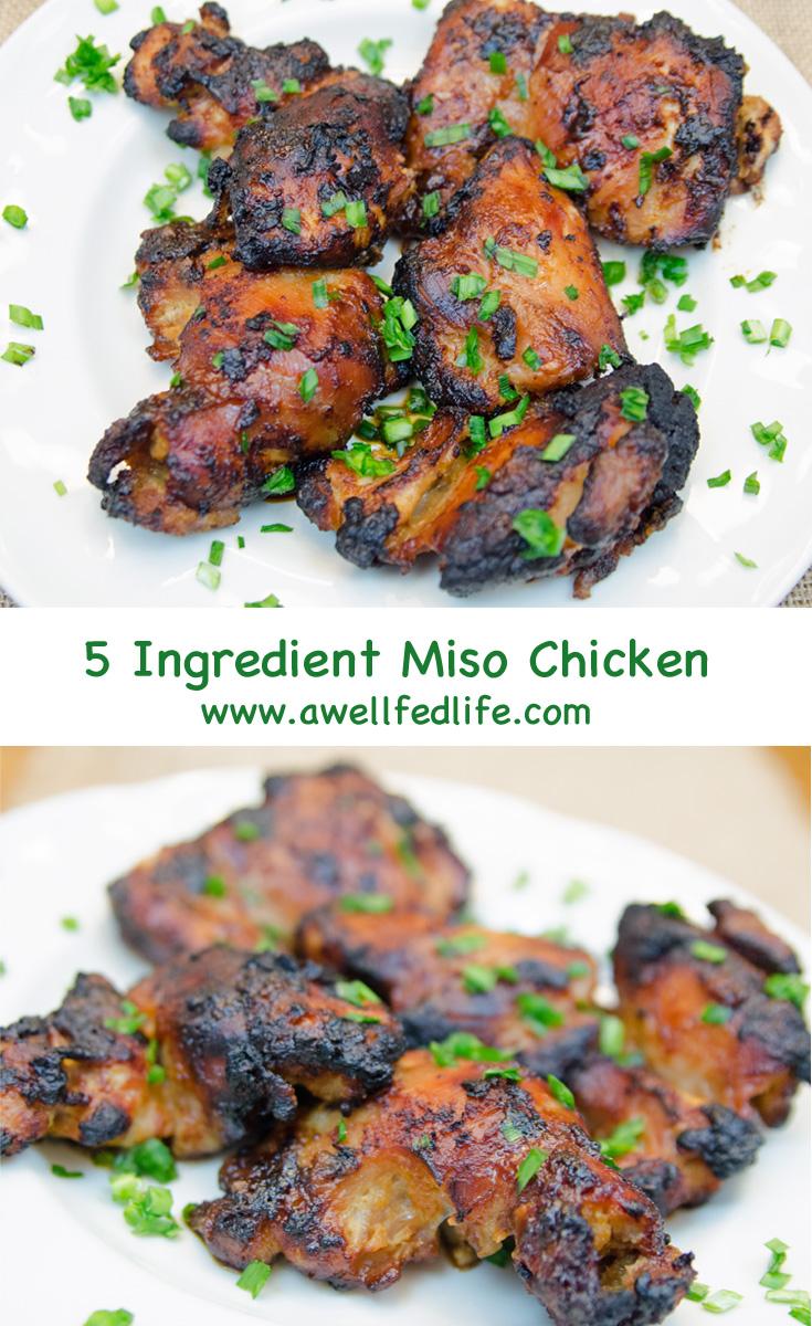 Five Ingredient Miso Chicken