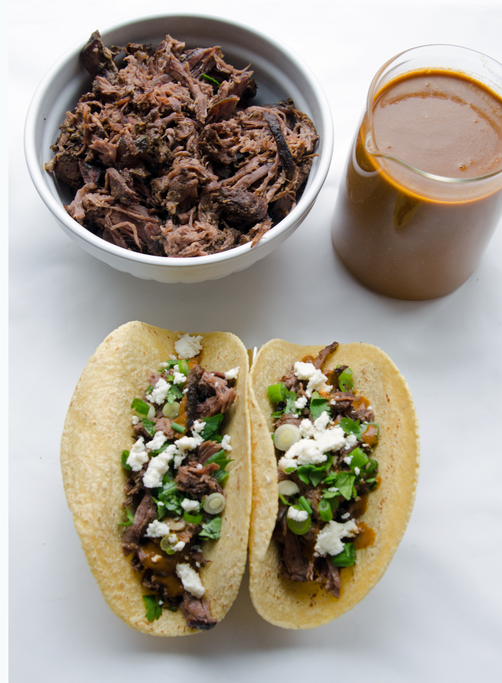 Slow cooker tacos and warm salsa