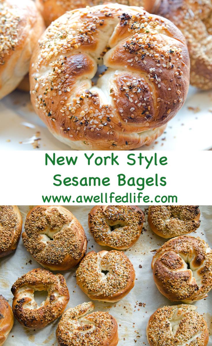New York Style Sesame Bagel