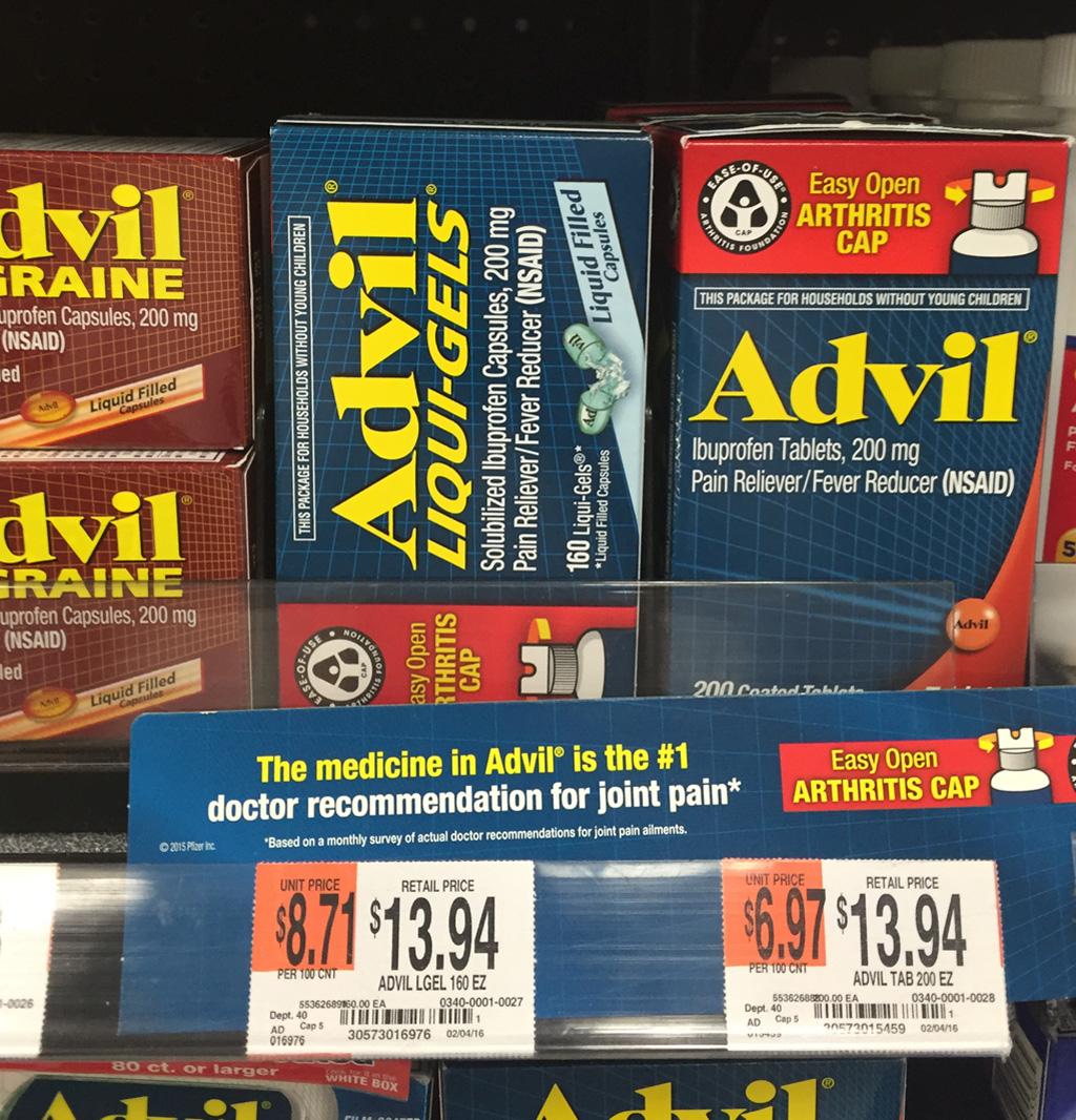 Advil Arthritis Cap