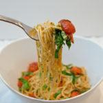 20 Minute Blistered Tomato Basil Pasta