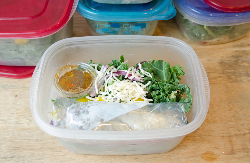 Grab and Go Salad