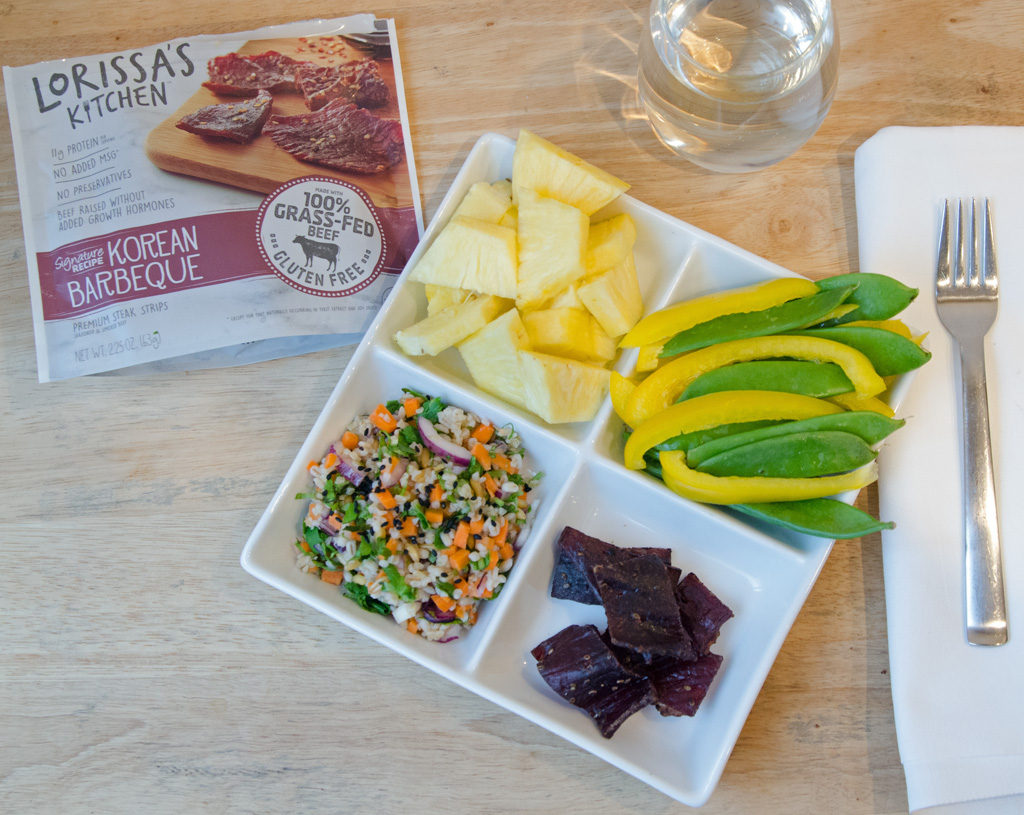 Bento Box Snacking with Lorissa's Kitchen and a Three Grain Salad