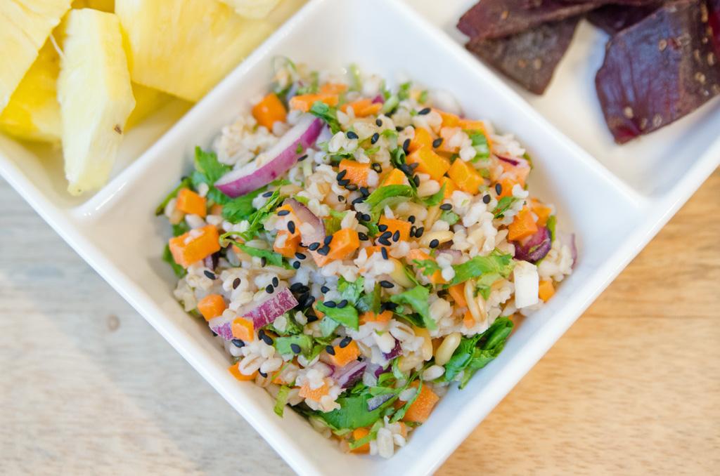 Whole Grain Salad with Sesame