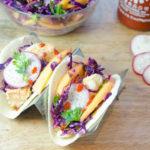 Sriracha Lime Fish Tacos