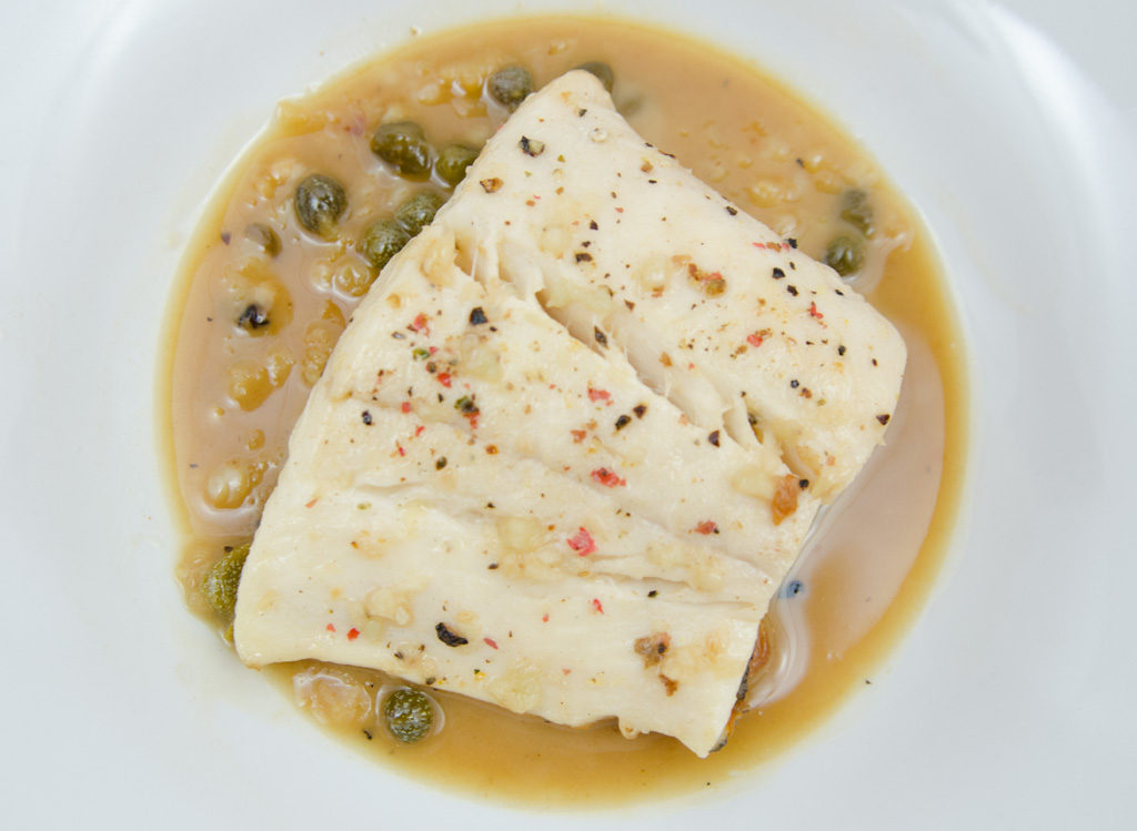 15 Minute Halibut with Lemon Butter Sauce