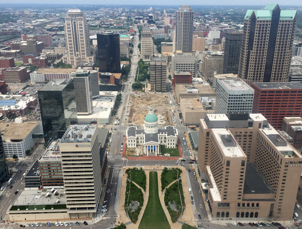 Top of the Arch