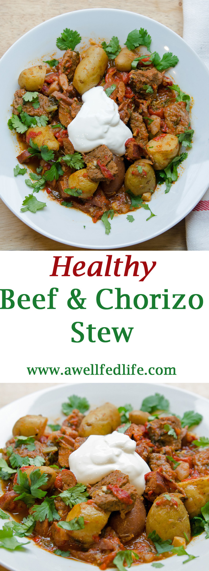 Healthy Beef Chorizo Stew