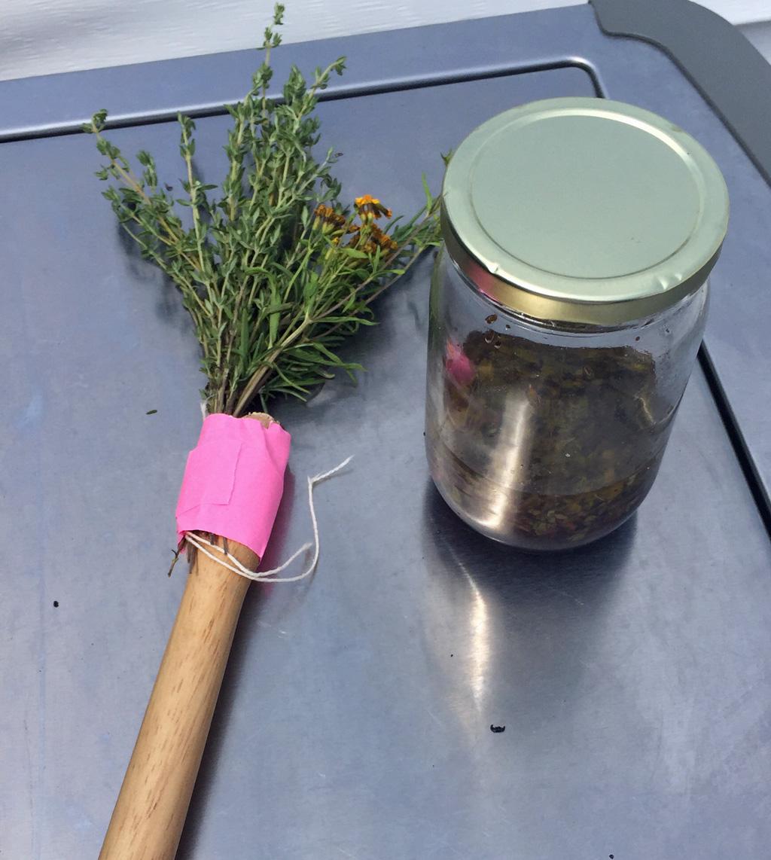 Herb Basting Mop
