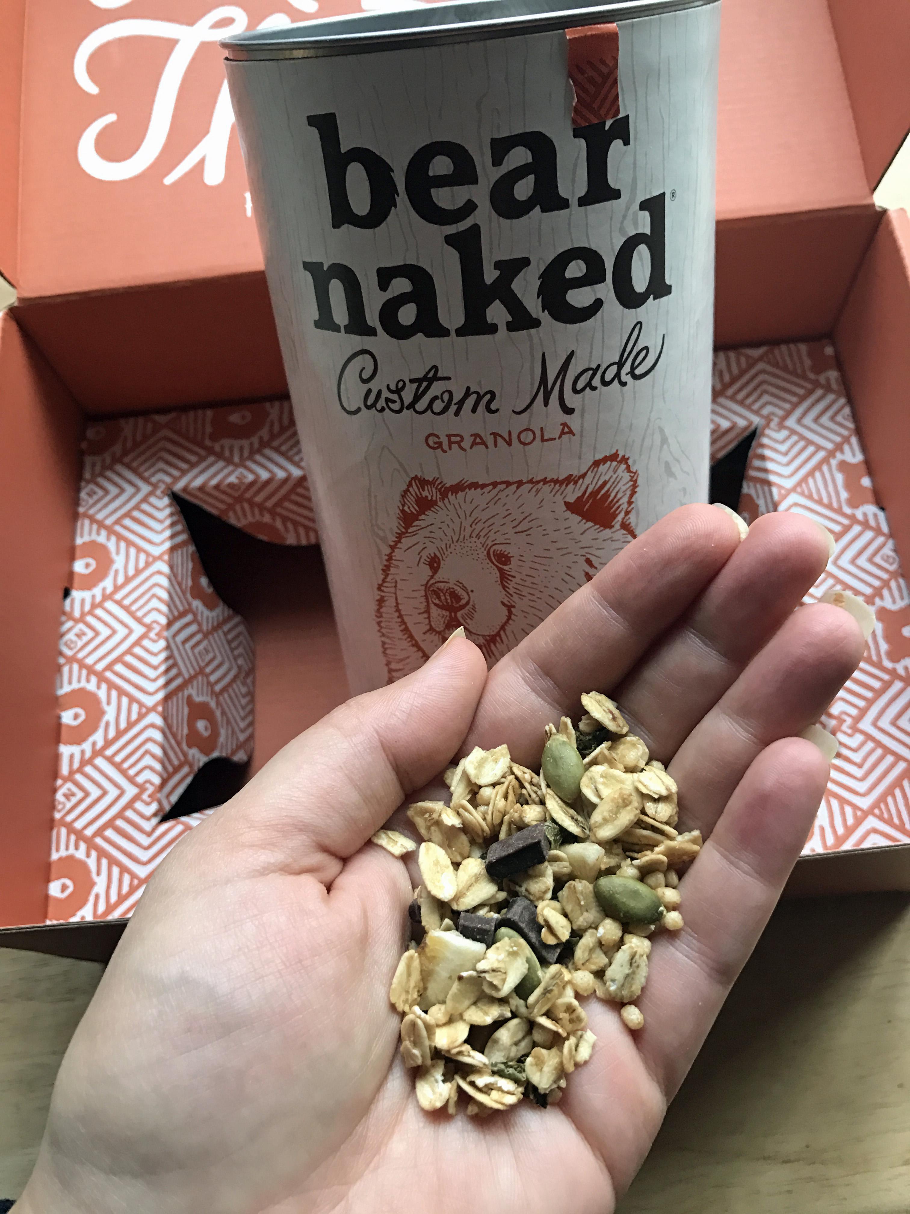 Custom Bear Naked Granola