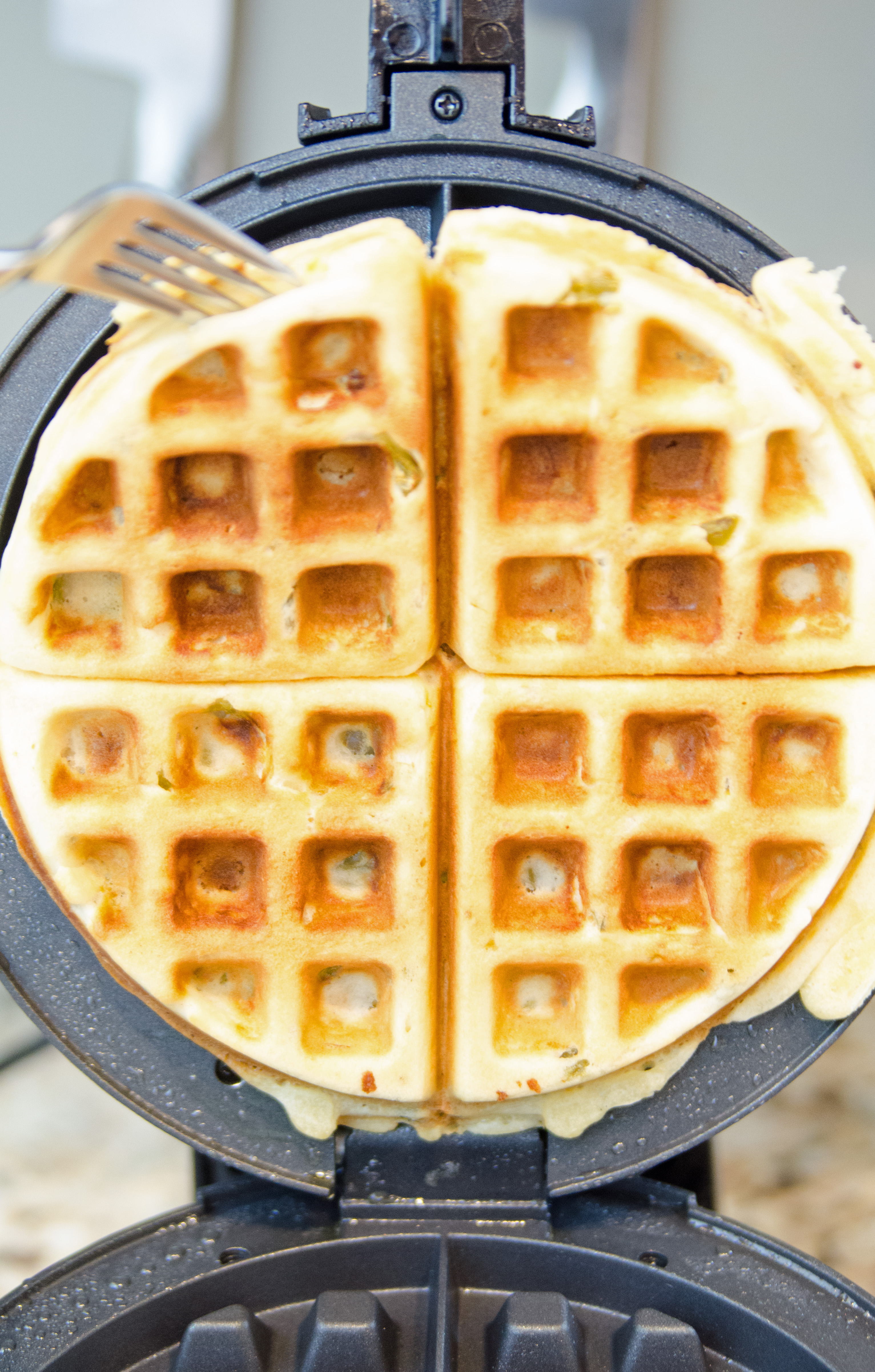fork-in-waffle