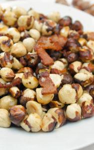 Roasted Bacon Hazelnuts