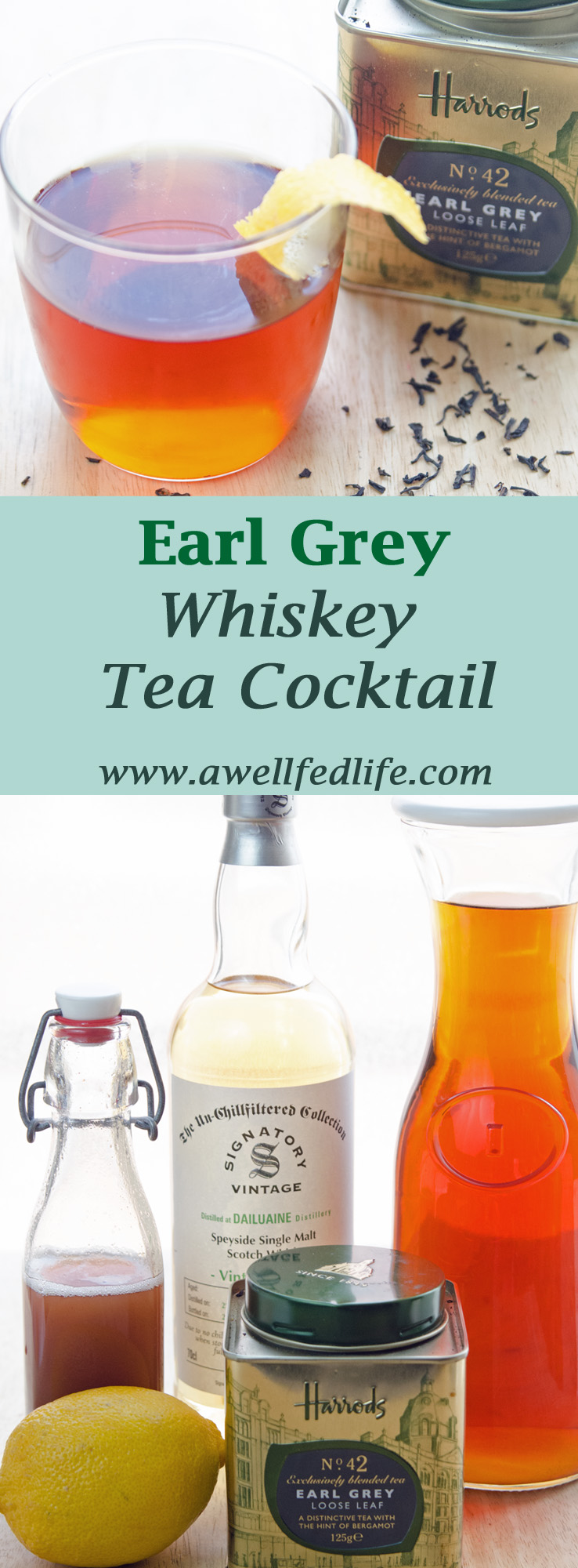 Earl Grey Cocktail Pinterest