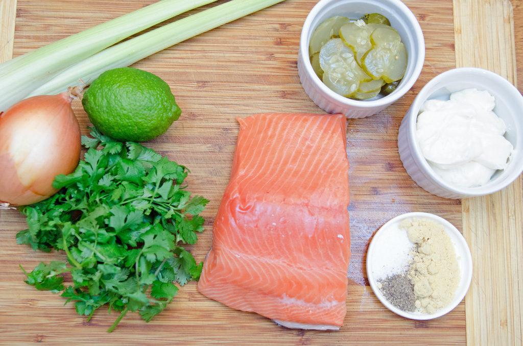 Salmon Cake Ingredients