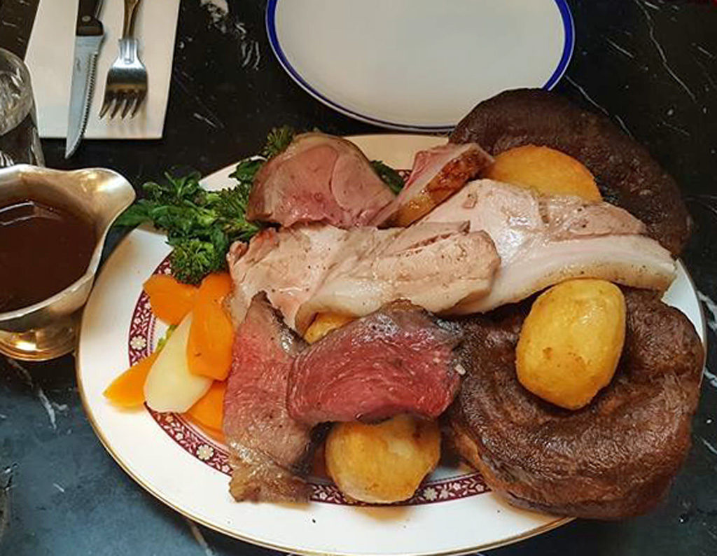 Eating in London