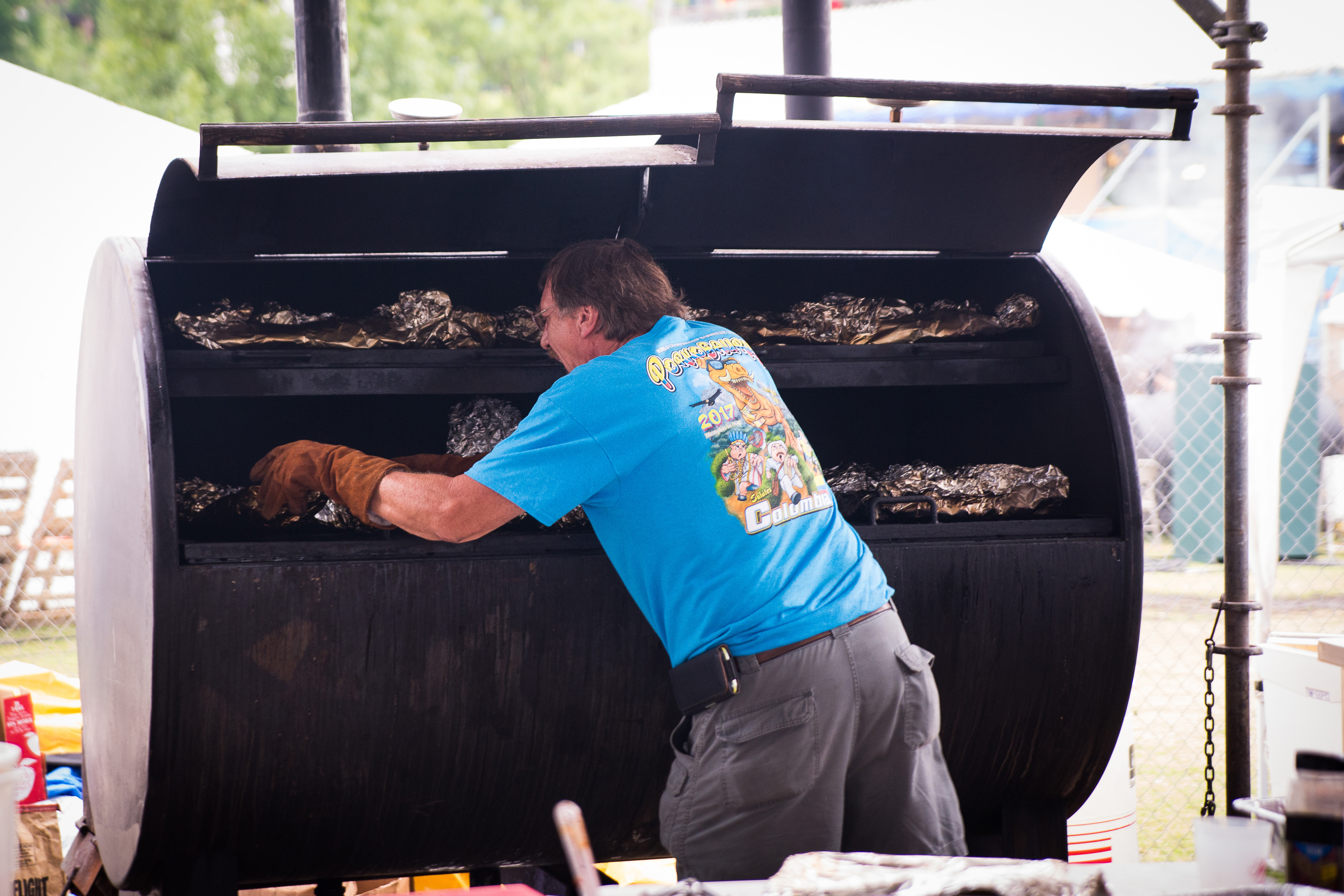 Cooking Ribs on the Pit WCBCC