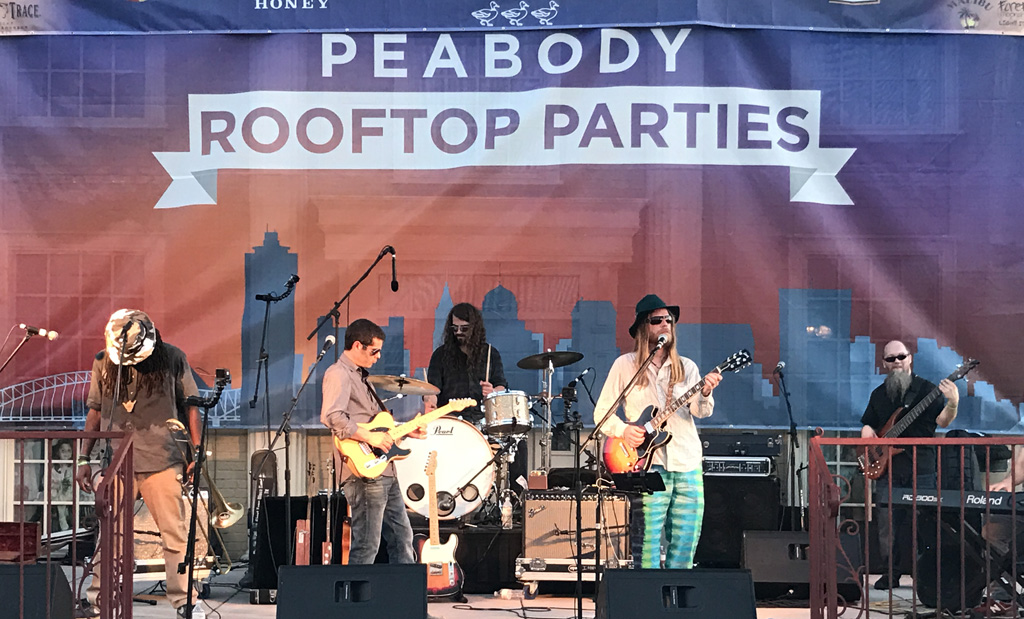 Peabody Hotel RoofTop Party