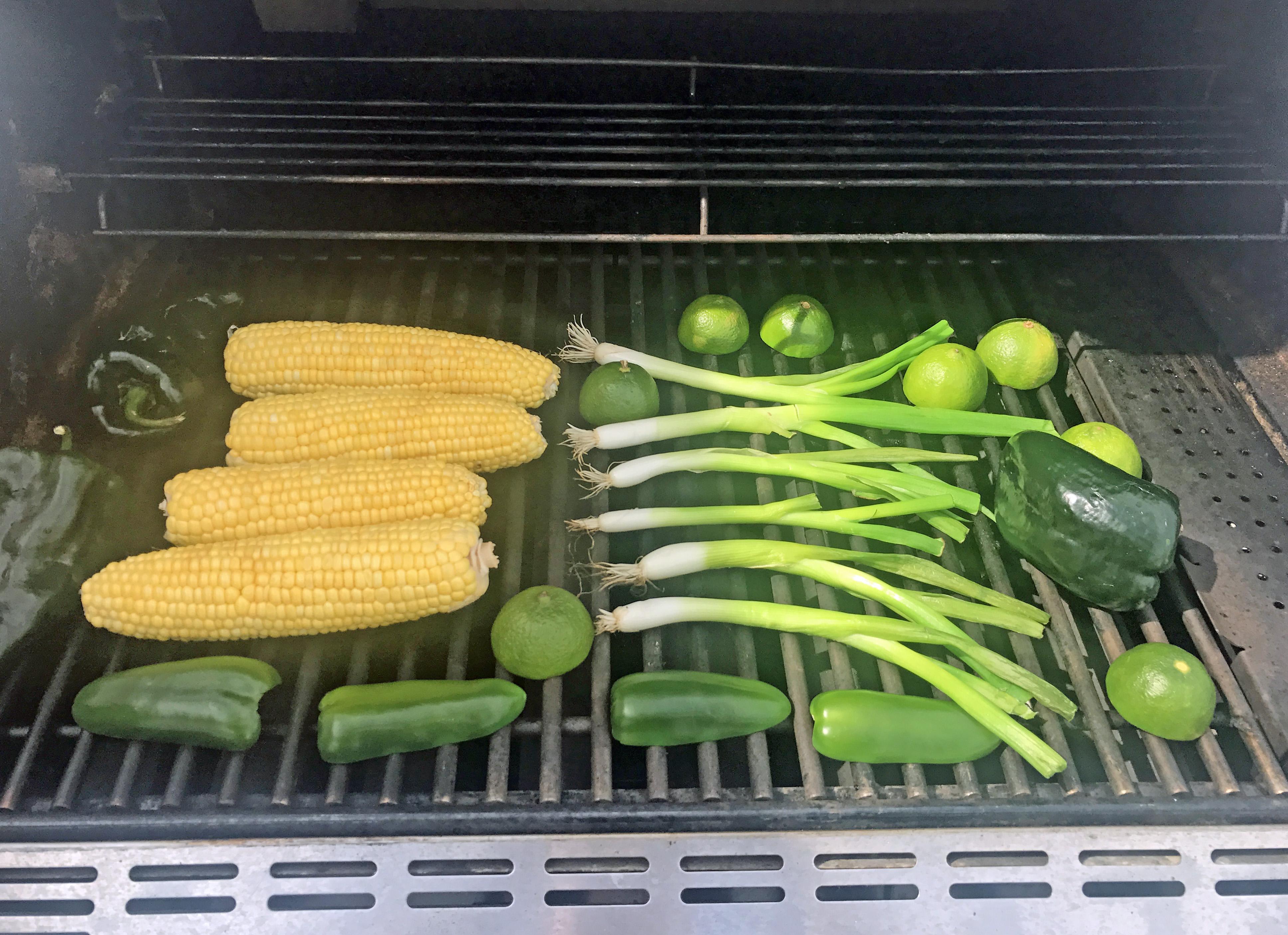 Corn Salad On the Grill
