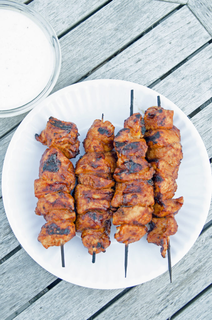 Smokin' Hot Chicken Kabobs